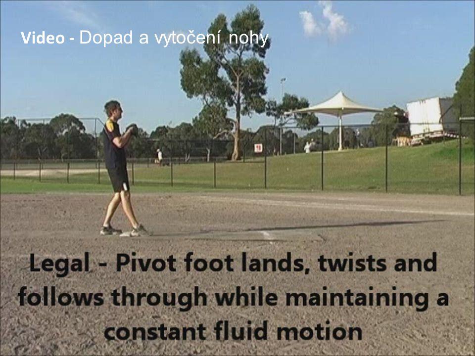 Video - Dopad a vytočení nohy