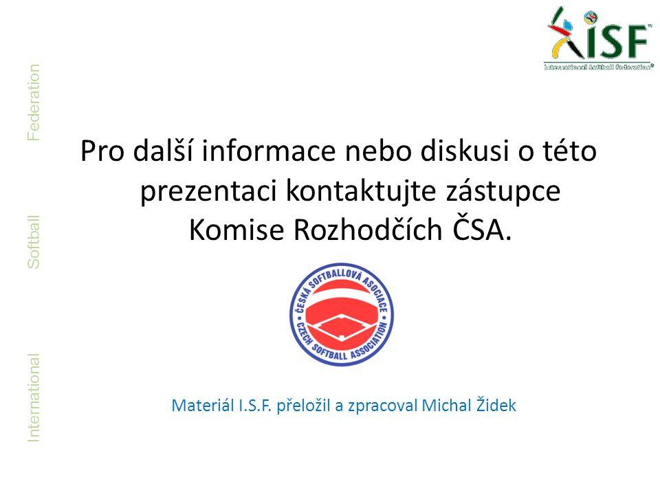 Materiál I.S.F. přeložil a zpracoval Michal Židek