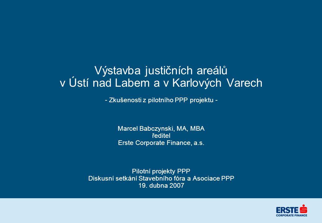 Ministerstvo spravedlnosti ČR potřebovalo efektivně řešit potřeby soudů v regionech