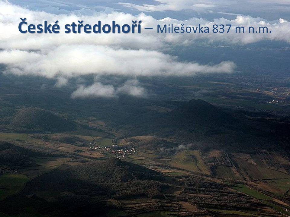 České středohoří – Milešovka 837 m n.m.