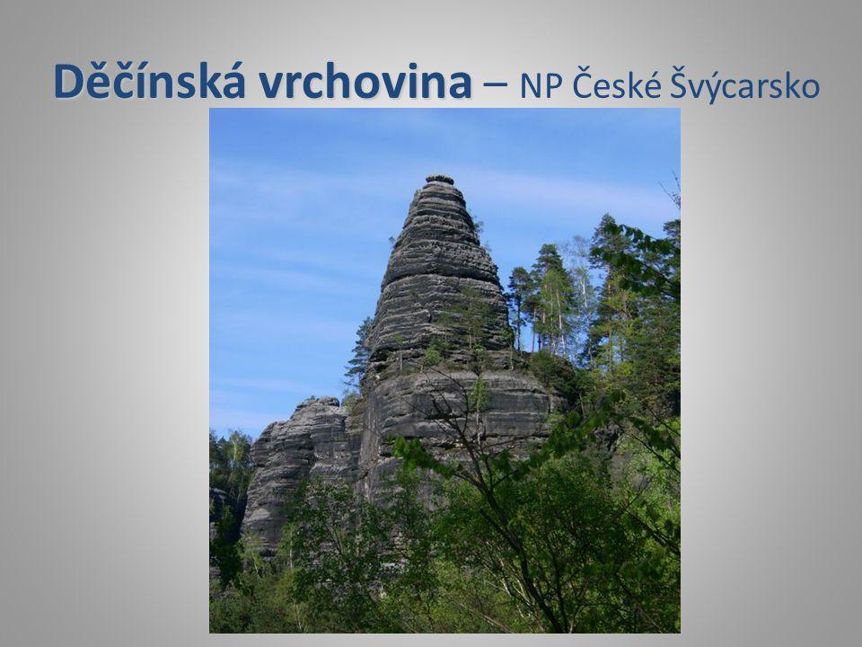 Děčínská vrchovina – NP České Švýcarsko