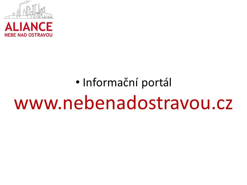 Informační portál www.nebenadostravou.cz