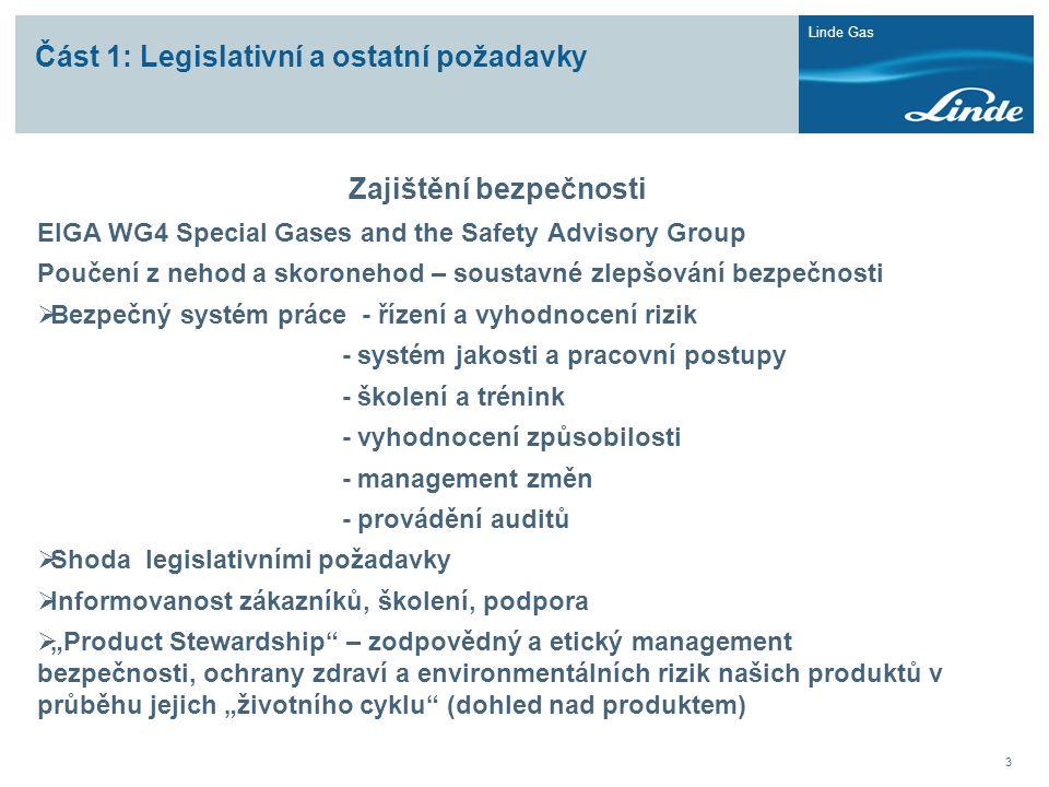 Část 1: Legislativní a ostatní požadavky