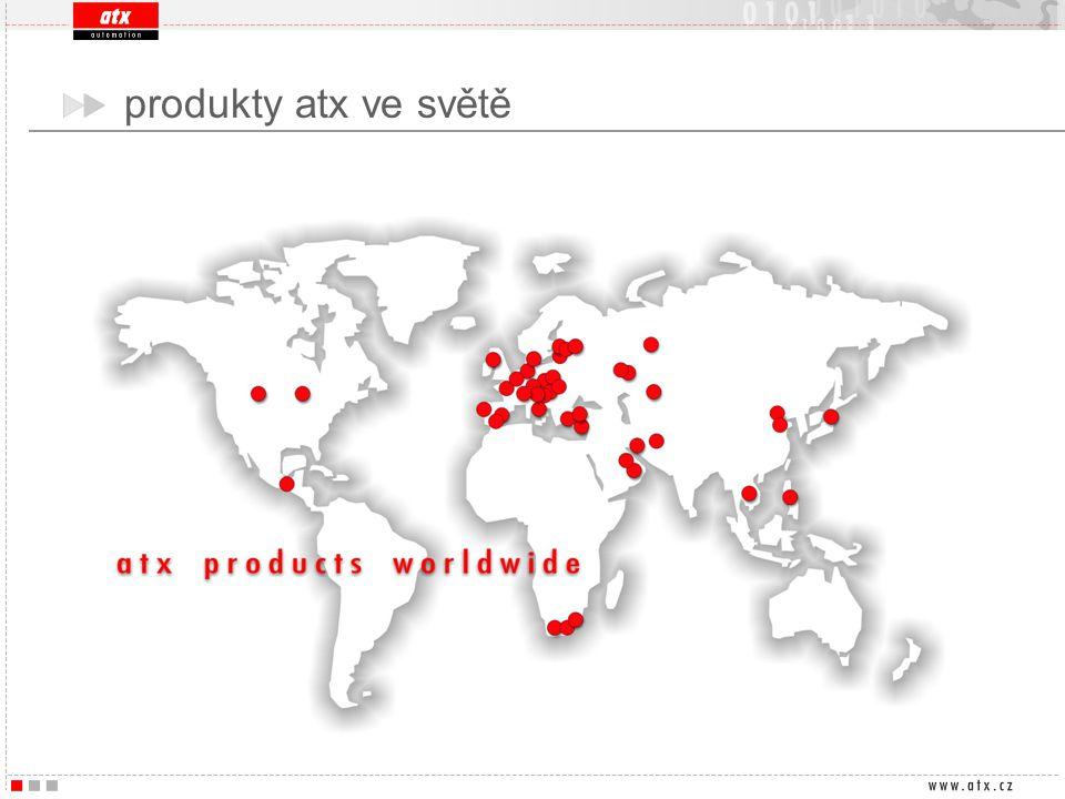 produkty atx ve světě
