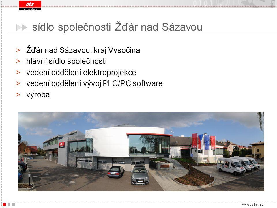 sídlo společnosti Žďár nad Sázavou
