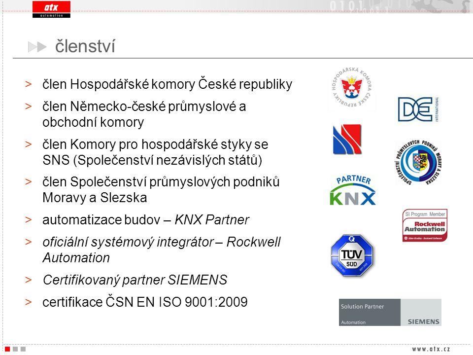 členství člen Hospodářské komory České republiky