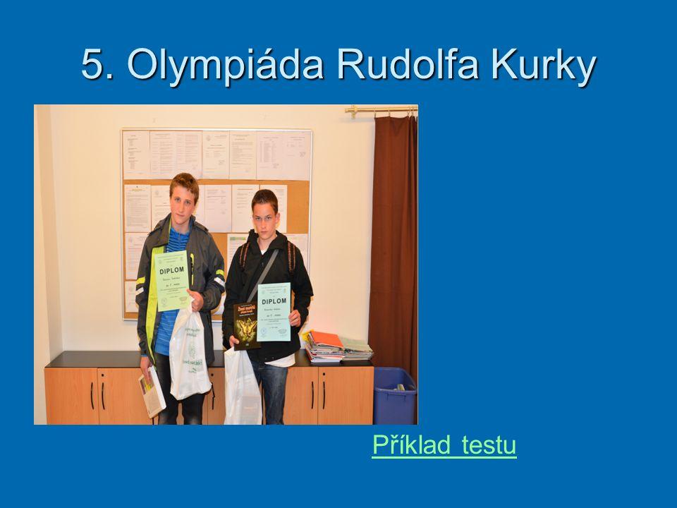 5. Olympiáda Rudolfa Kurky