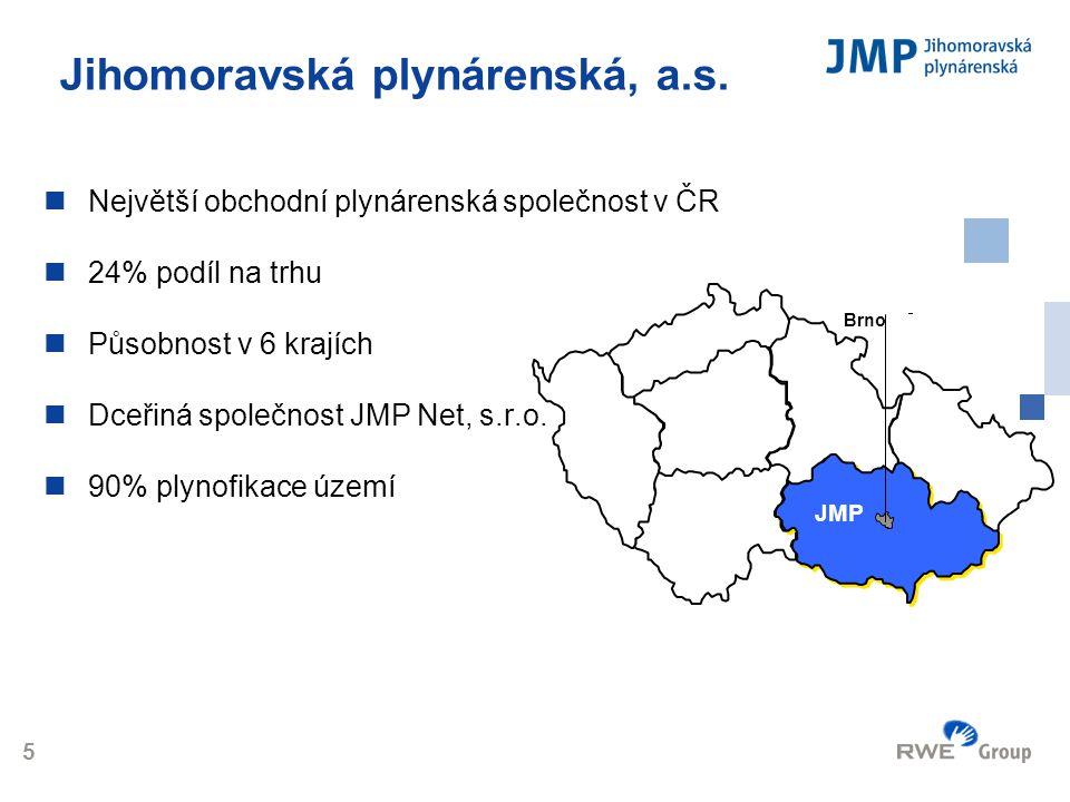 Jihomoravská plynárenská, a.s.