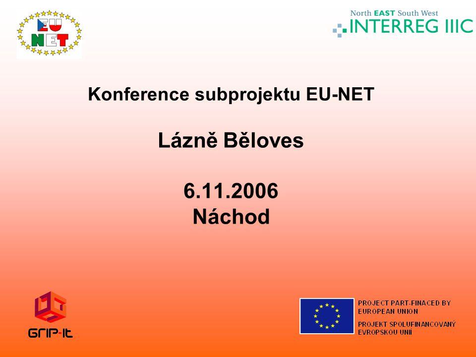 Konference subprojektu EU-NET