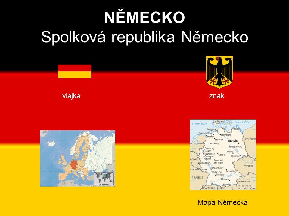 NĚMECKO Spolková republika Německo