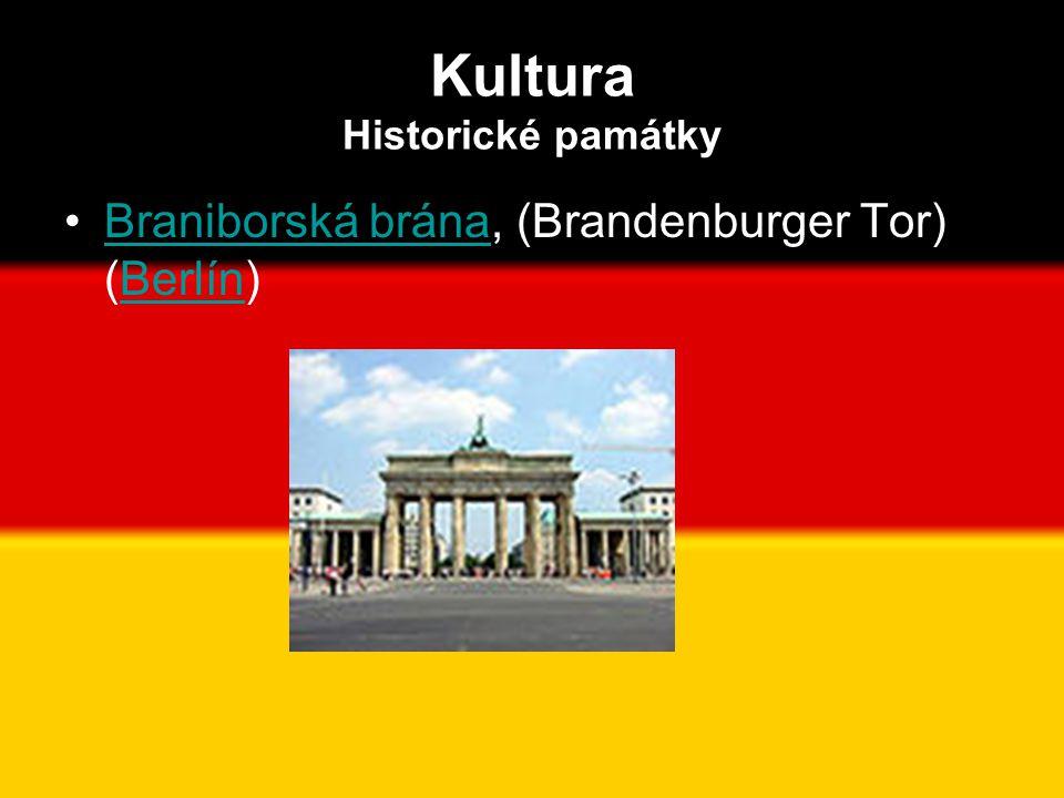 Kultura Historické památky