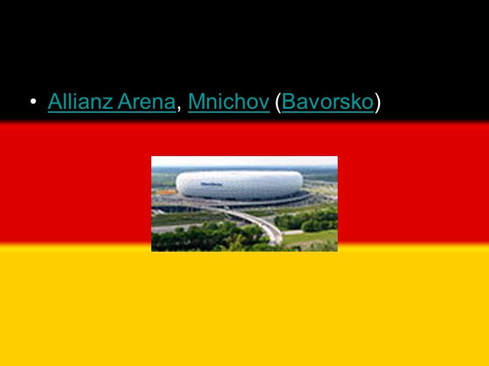 Allianz Arena, Mnichov (Bavorsko)