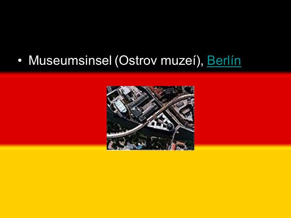 Museumsinsel (Ostrov muzeí), Berlín