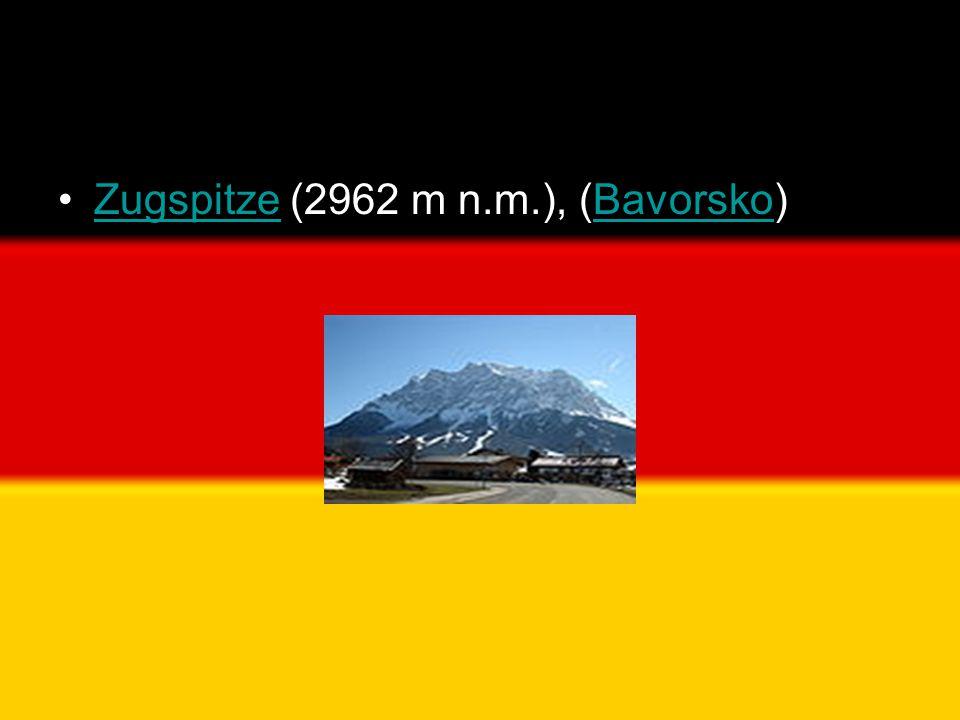 Zugspitze (2962 m n.m.), (Bavorsko)