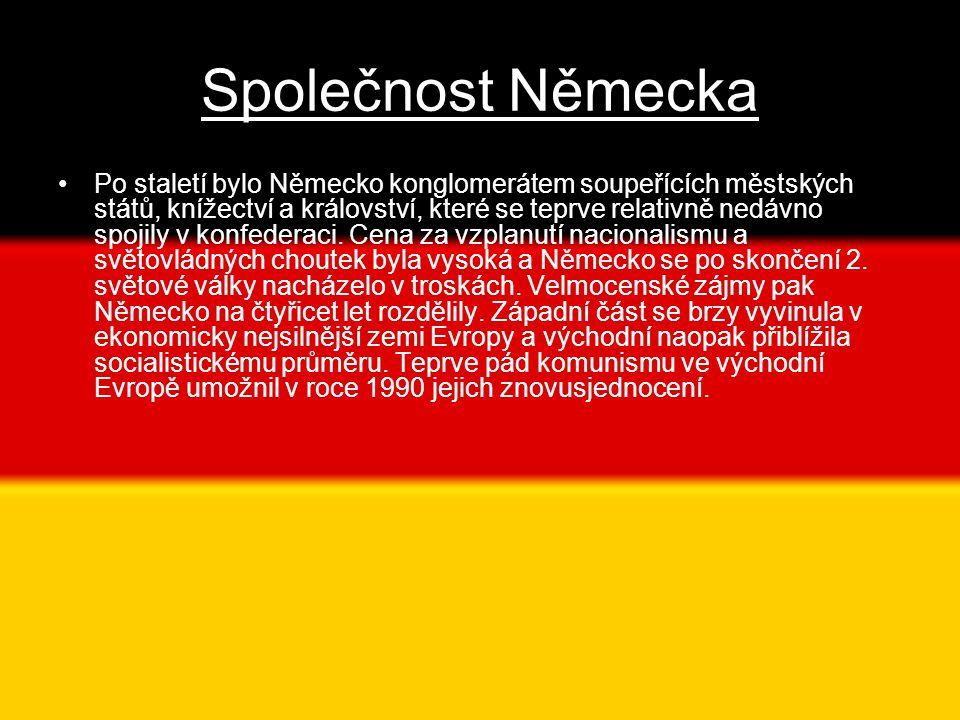 Společnost Německa