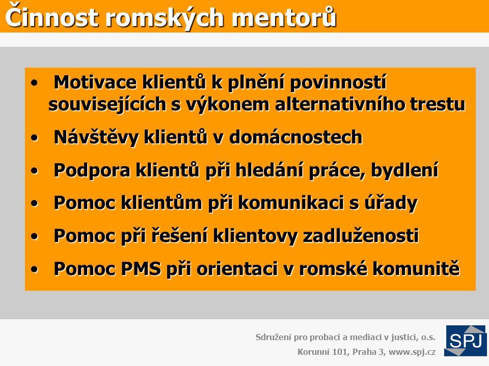 Činnost romských mentorů