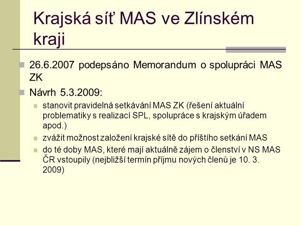 Krajská síť MAS ve Zlínském kraji