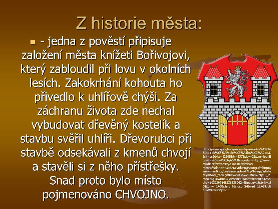Z historie města: