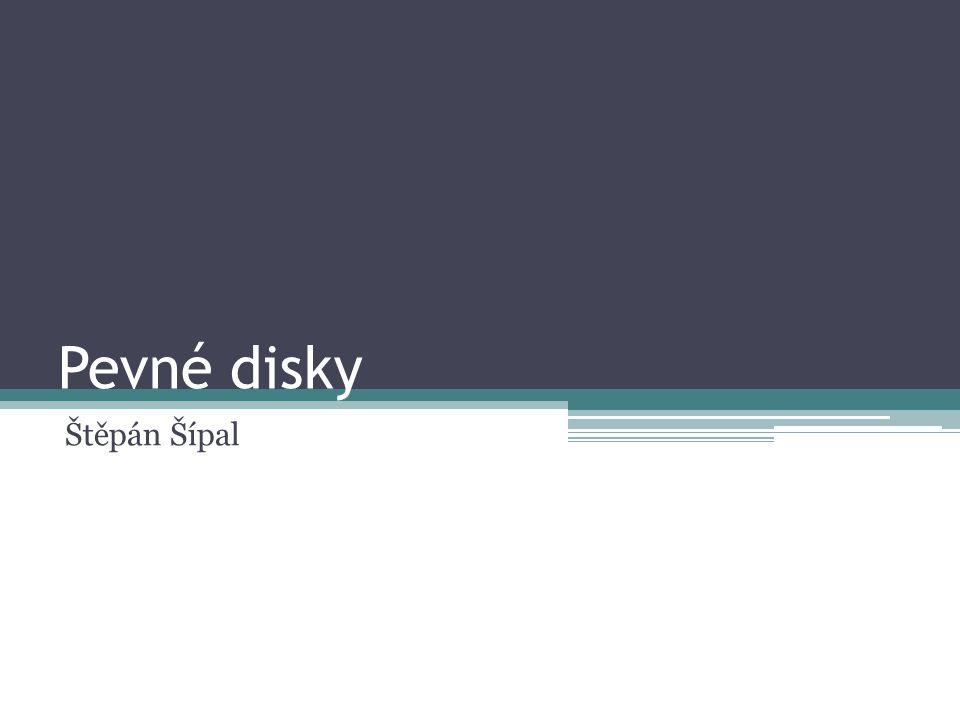 Pevné disky Štěpán Šípal