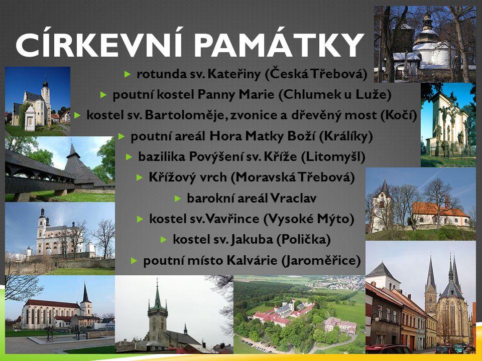 CÍRKEVNÍ PAMÁTKY rotunda sv. Kateřiny (Česká Třebová)