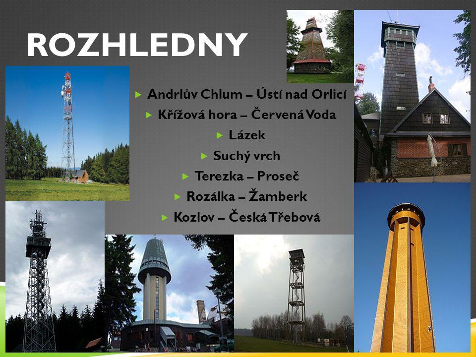 Andrlův Chlum – Ústí nad Orlicí Křížová hora – Červená Voda