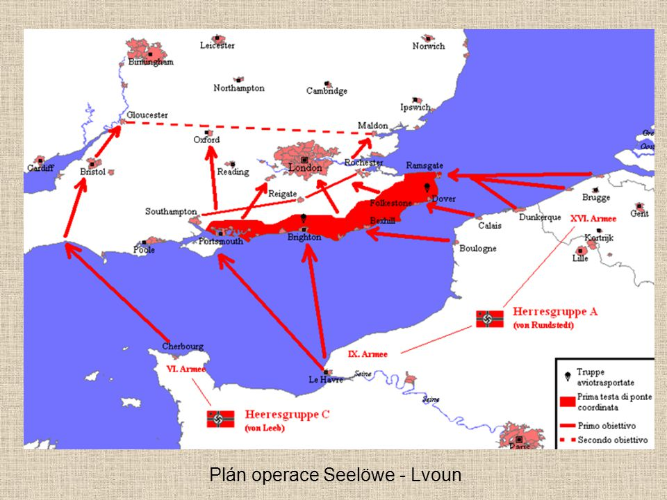 Plán operace Seelöwe - Lvoun