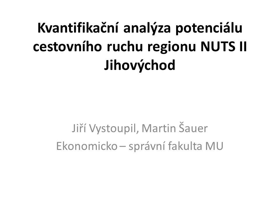Jiří Vystoupil, Martin Šauer Ekonomicko – správní fakulta MU
