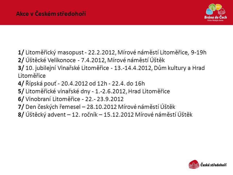 Akce v Českém středohoří