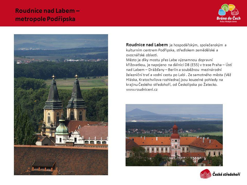 Roudnice nad Labem – metropole Podřipska