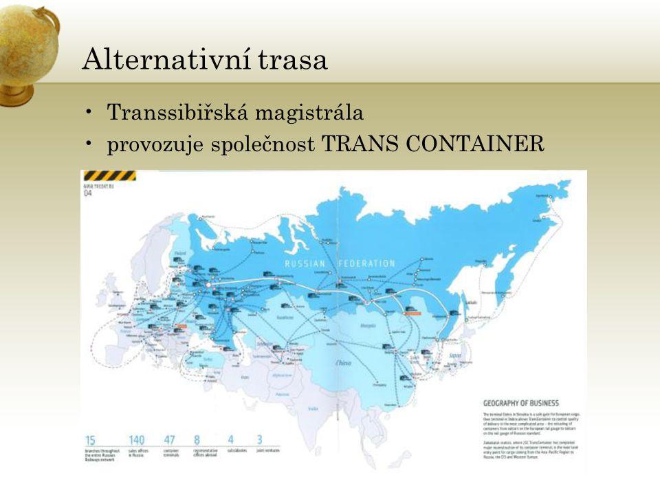 Alternativní trasa Transsibiřská magistrála