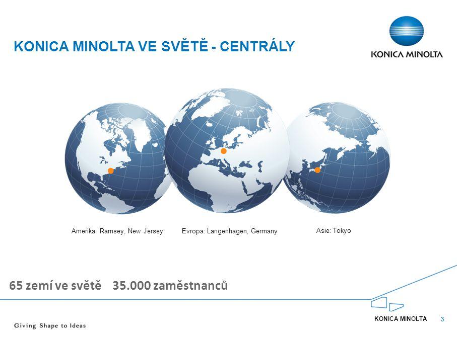 KONICA MINOLTA ve světě - CentrálY