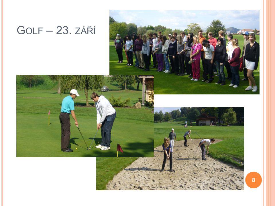 Golf – 23. září