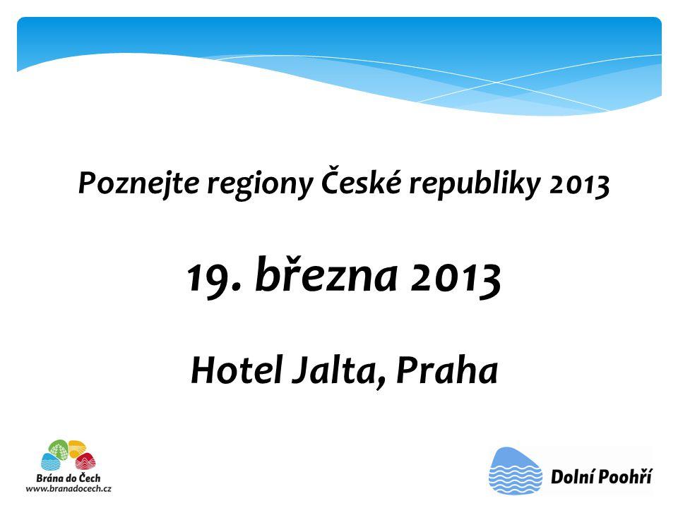 Poznejte regiony České republiky 2013