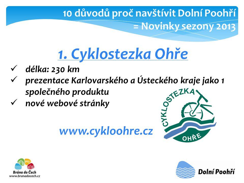 1. Cyklostezka Ohře www.cykloohre.cz