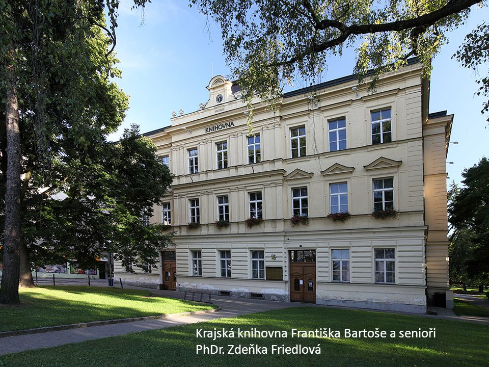 KKFB Krajská knihovna Františka Bartoše a senioři
