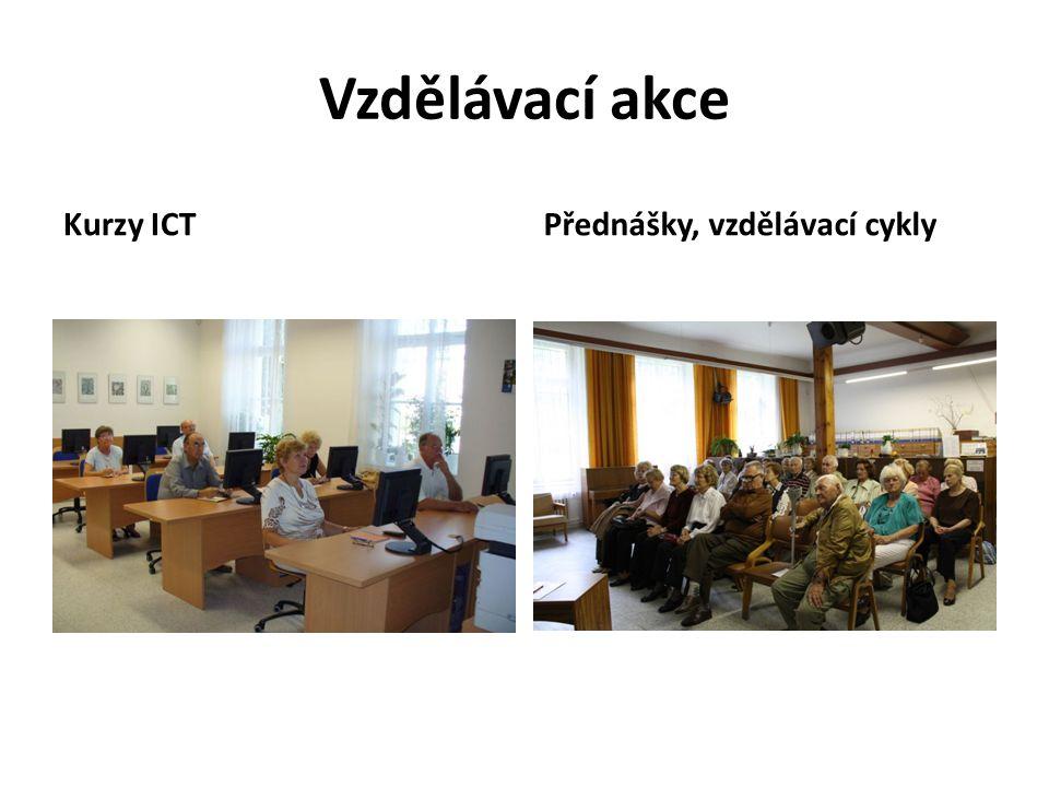 Vzdělávací akce Kurzy ICT Přednášky, vzdělávací cykly