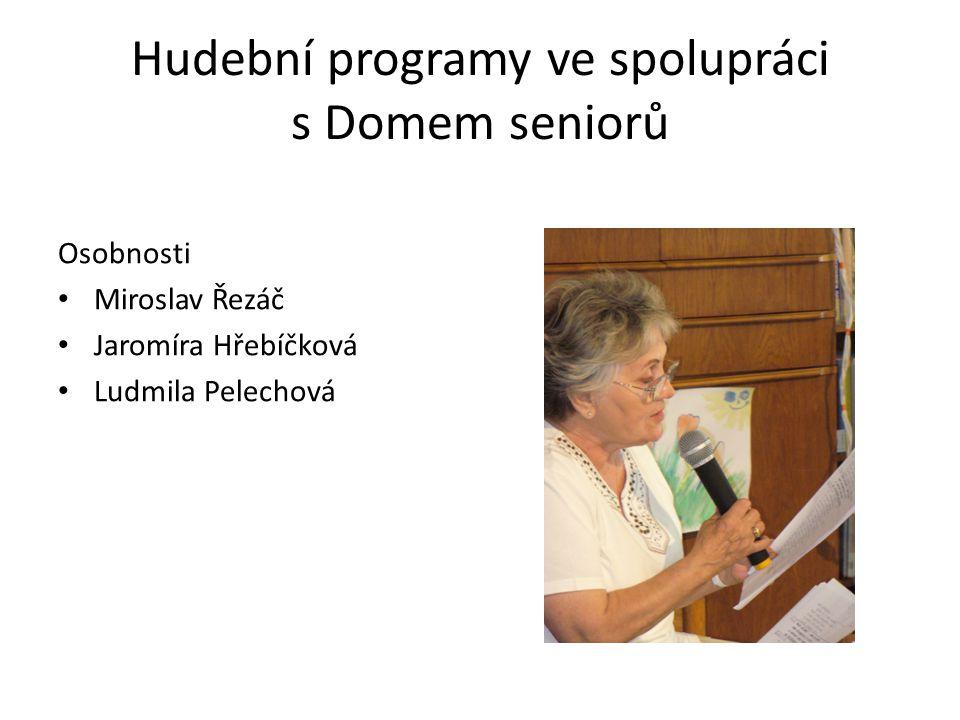 Hudební programy ve spolupráci s Domem seniorů