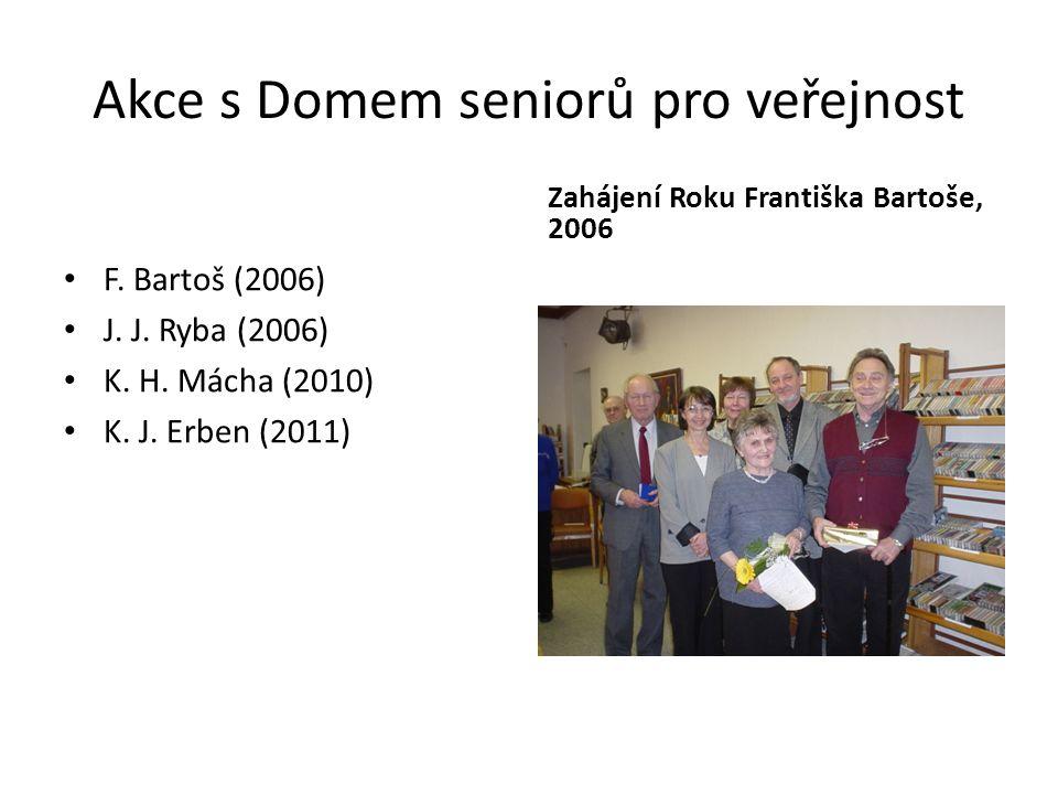 Akce s Domem seniorů pro veřejnost