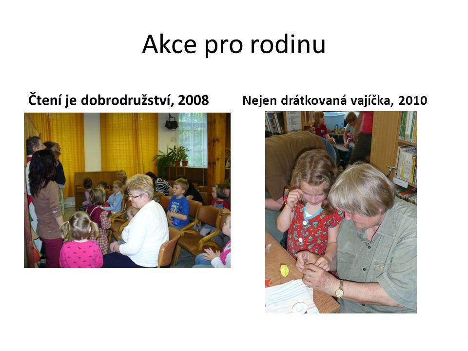 Akce pro rodinu Čtení je dobrodružství, 2008