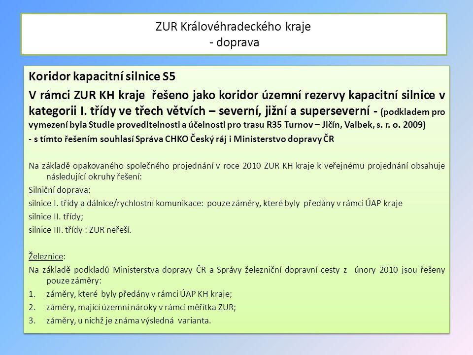 ZUR Královéhradeckého kraje - doprava