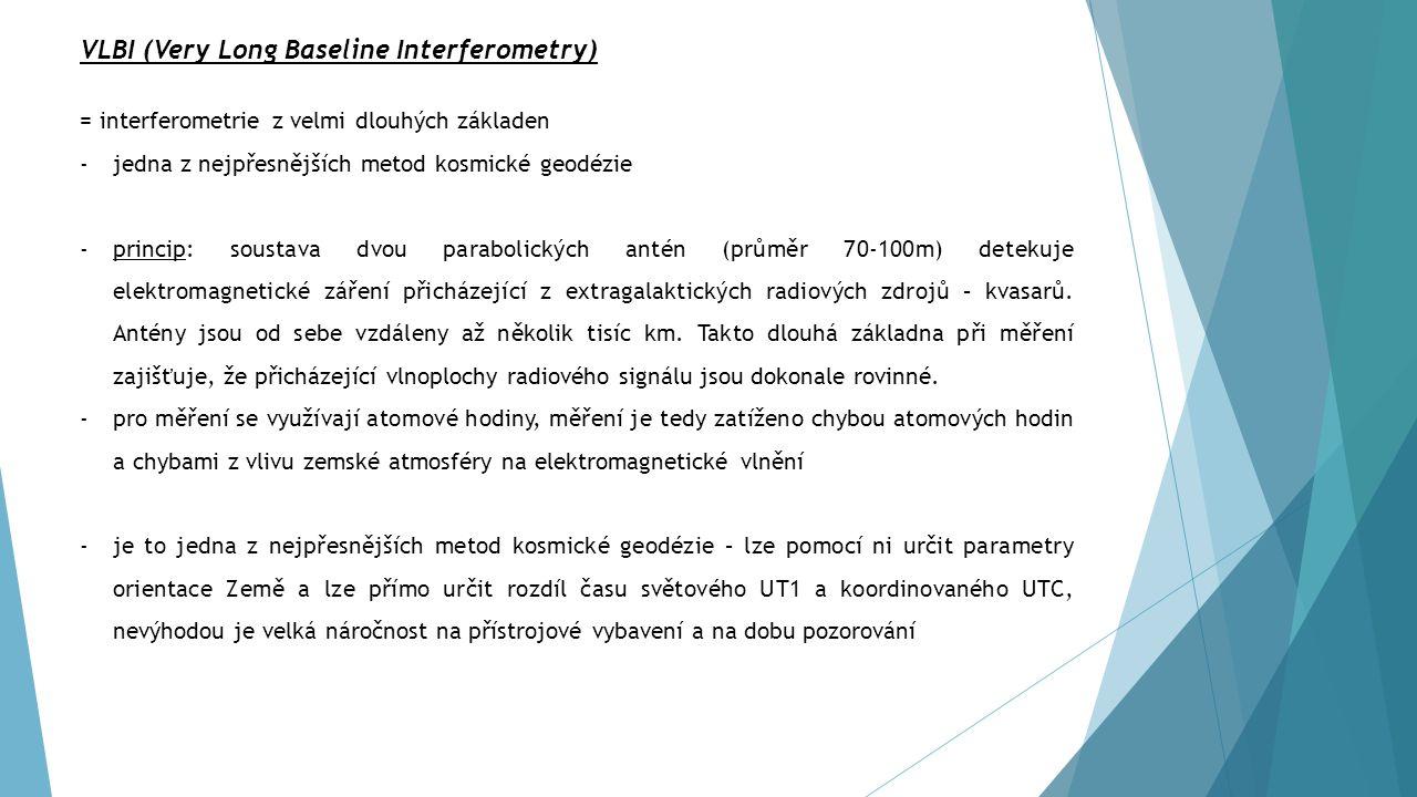 VLBI (Very Long Baseline Interferometry)