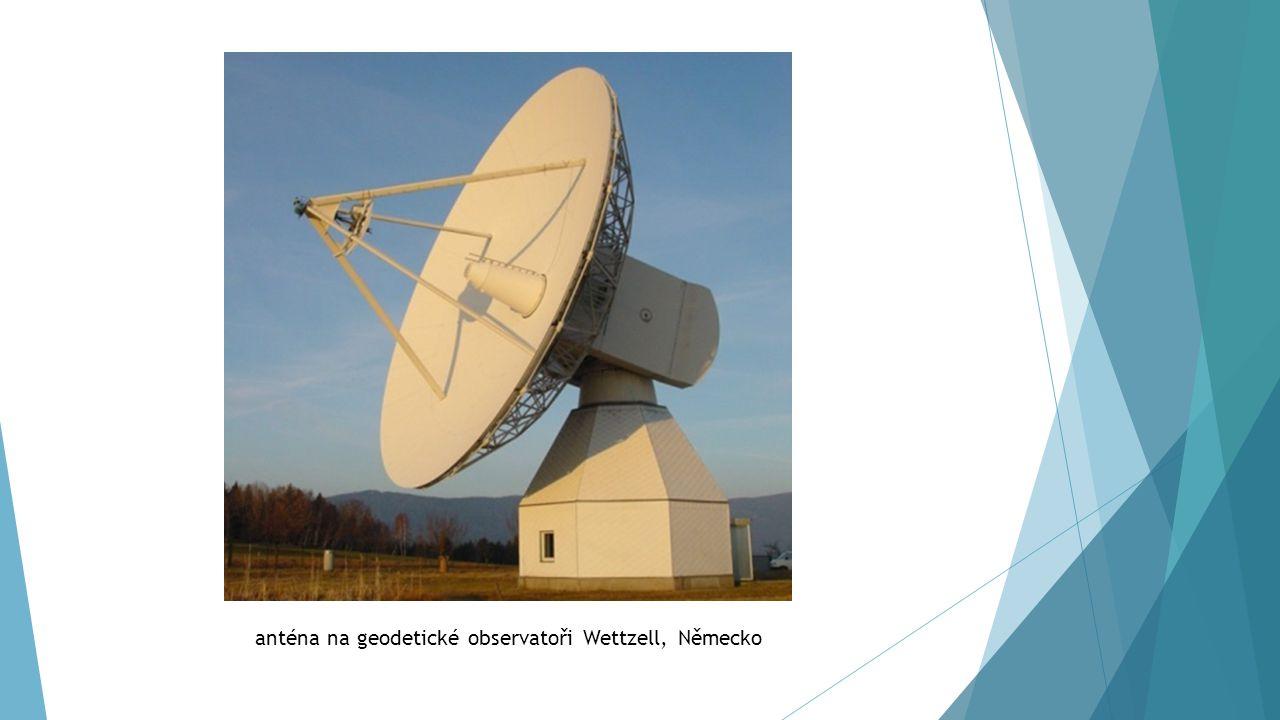 anténa na geodetické observatoři Wettzell, Německo