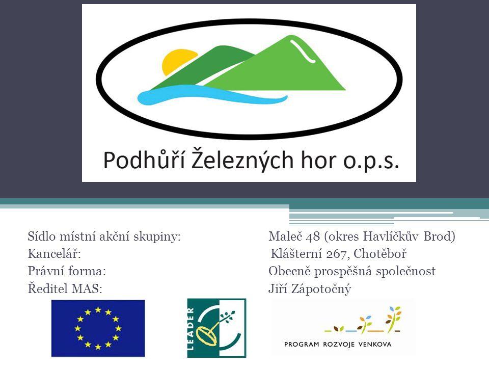 Sídlo místní akční skupiny: Maleč 48 (okres Havlíčkův Brod)