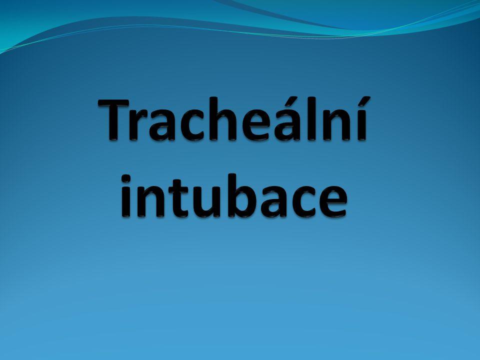 Tracheální intubace