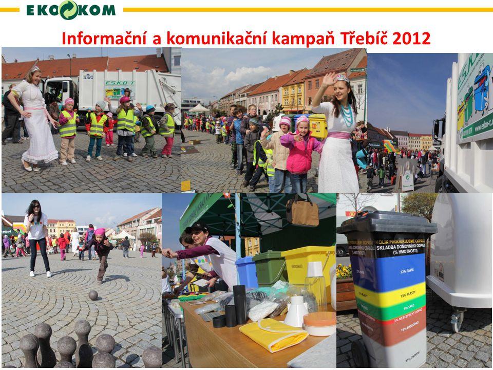 Informační a komunikační kampaň Třebíč 2012