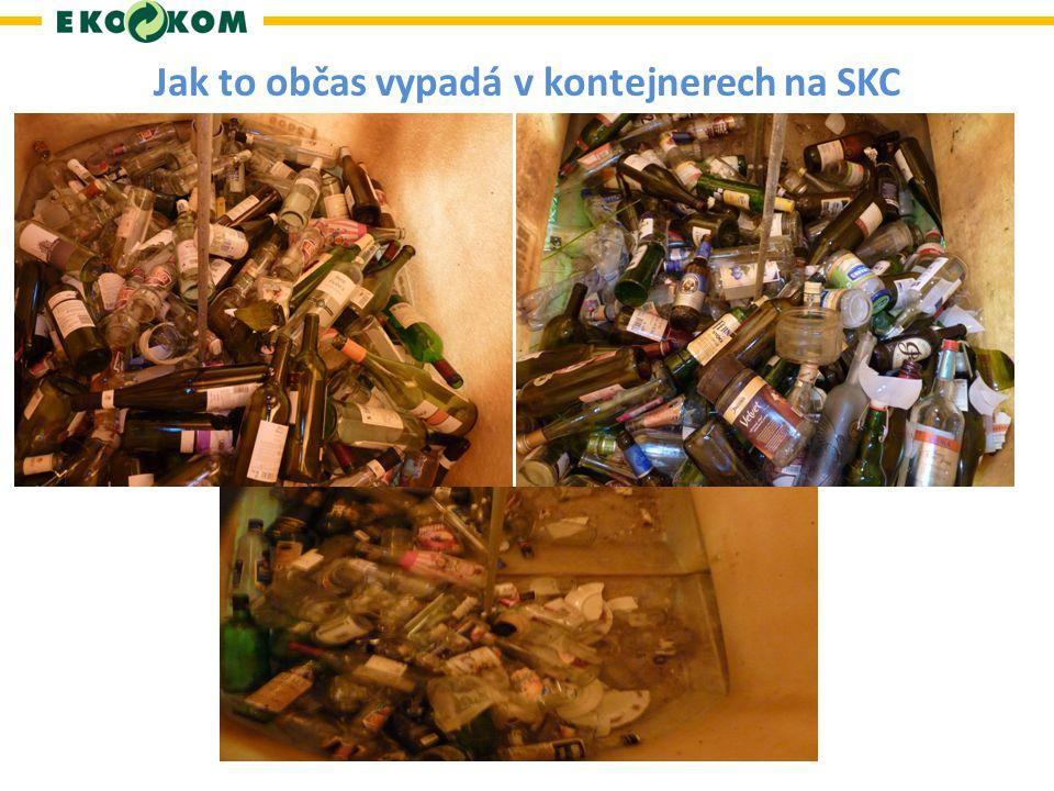 Jak to občas vypadá v kontejnerech na SKC