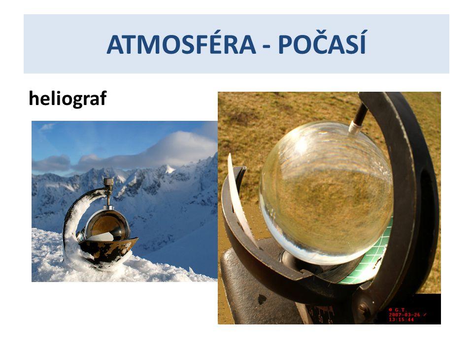 ATMOSFÉRA - POČASÍ heliograf