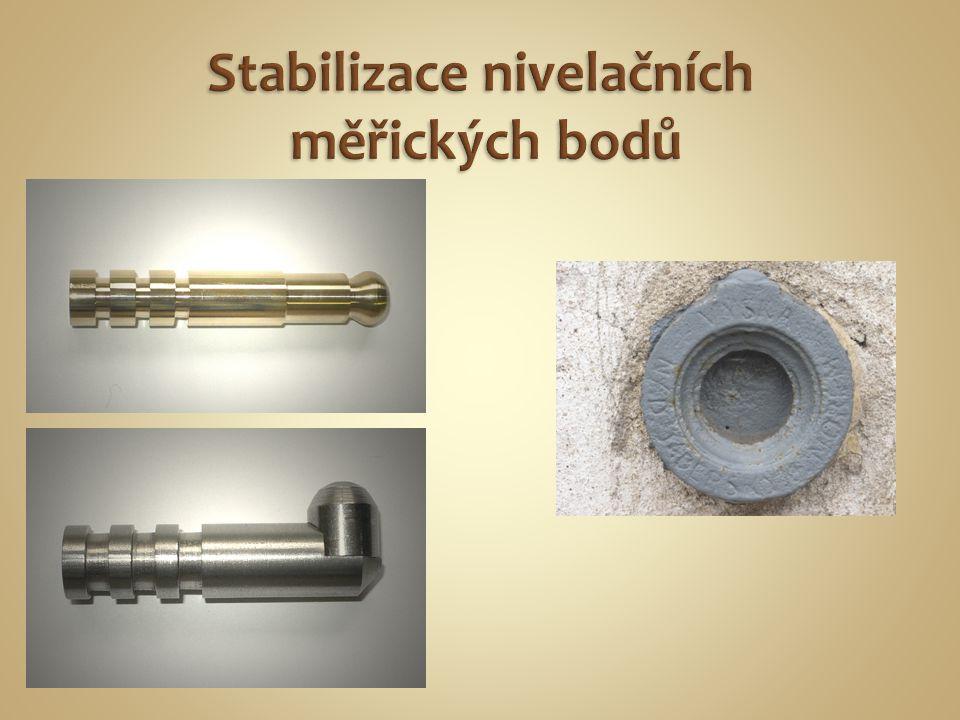 Stabilizace nivelačních měřických bodů