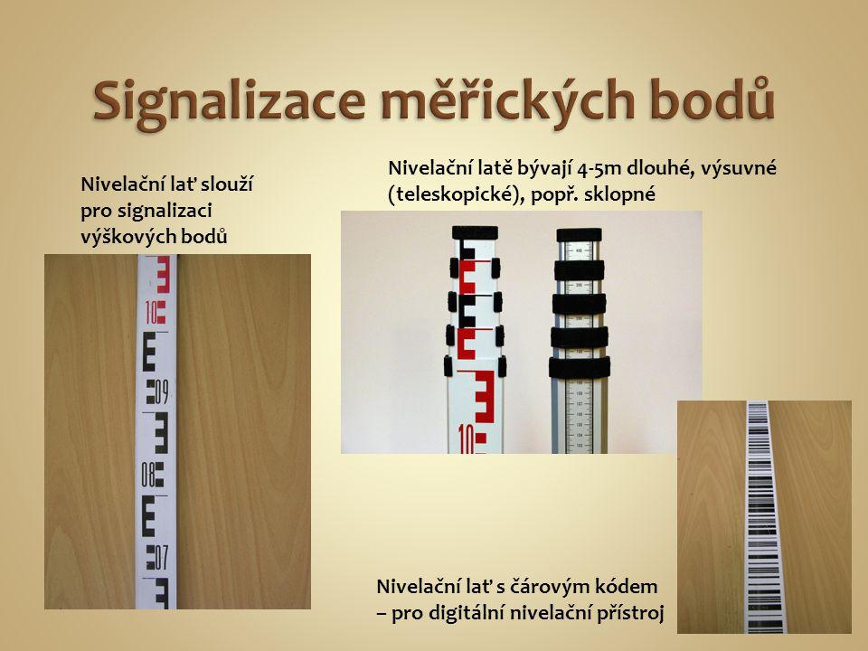 Signalizace měřických bodů