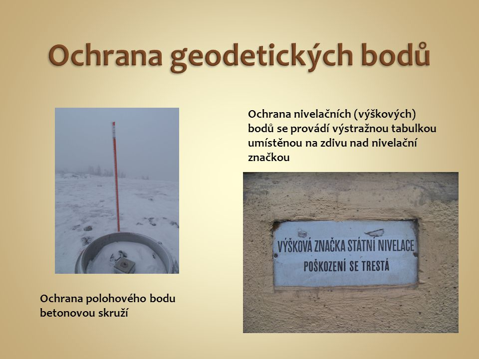 Ochrana geodetických bodů